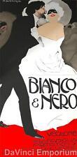Bianco and Nero 2 Sheet Theater Poster Fine Art Lithograph Marcello Dudovich S2