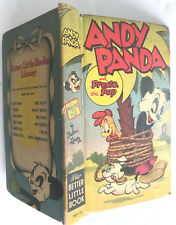 1949 ANDY PANDA Presto the Pup NEW BETTER LITTLE BOOK Walter Lantz CARTOON