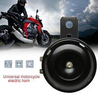 12v moto klaxon électrique moto fort klaxon noir 105db universel LB