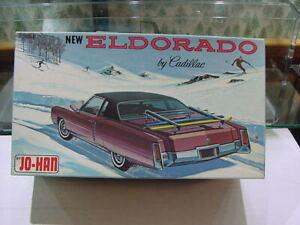 1/24 Johan 1971-72 Cadillac Eldorado Ski version Box and Custom Version Parts