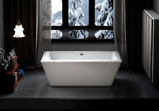 Carver Tubs Journey 71″ Freestanding Tub + Heated Air Massage - White