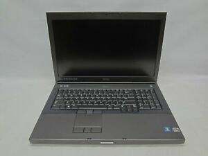 """Dell Precision M6700 17.1"""" Laptop 2.9 GHz i7-3520M 4GB RAM (Grade C)"""