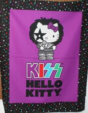 "1 David Textiles Hello Kitty ""Kiss"" Wallhanging/Lap Quilt Panel  Fabric"