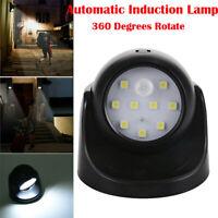 2x 360° LED Lampada Faretto Parete Con Sensore di Movimento Luce Emergenza Notte