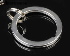 25mm Tactical Stainless Steel Key Ring Chain Outer for Nitecore Fenix LED Siver