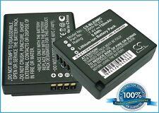 Batterie pour Panasonic Lumix DMC-GF3KW DMC-GF3C DMC-GF3CW DMC-G