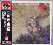 Loudness Disillusion Japan CD Obi 1993 COCA-11124 Rare