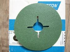 5 St Fiberschleifscheiben 180mm P100 Siamet Schleifscheiben
