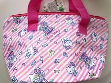 Girl Child Lady Hello Kitty Lunch Box school Tote mum Organizer Insulated Bag