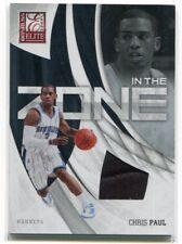 2009-10 Donruss Elite In the Zone Jerseys 15 Chris Paul Jersey 42/199