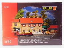 "LOT 32120 | Faller HO 190119 Bahnhof-Set ""St. Johann"" Bausatz NEU in OVP"