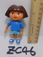DORA THE EXPLORER TALKING DOLL HOUSE REPLACEMENT FIGURE PVC GIRL WITH BLUE SHIRT