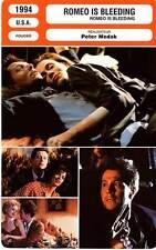 FICHE CINEMA : ROMEO IS BLEEDING - Oldman,Olin,Wood,Wincott,Cromwell,Medak 1994