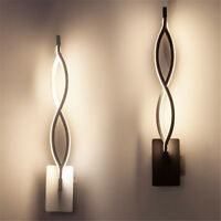16W LED Modern Indoor Wall Lights Aisle Bedside Wall Lamp Sconce Night Lighting