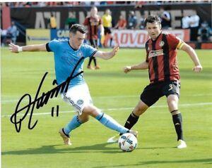 New York City FC Jack Harrison Autographed Signed 8x10 MLS Photo COA A4