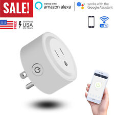 Wifi Smart Plug Outlet Socket Adapter Switch For Android IOS Google Home Alexa