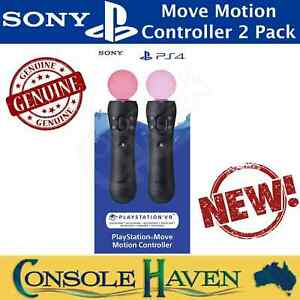 Sony PlayStation Move Motion Controller Twin Pack V2 PSVR PS4 PS5 VR CECH-ZCM2E