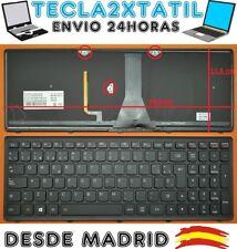 TECLADO PARA IBM Lenovo 25214728 ESPAÑOL RETROILUMINADO BACKLIT VER FOTO