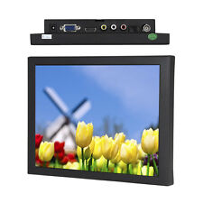 "8"" TFT LCD 4:3 Color Monitor Screen Display VGA BNC AV HDMI for PC CCTV DVR DSLR"