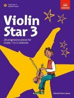Violin Star 3, Student's book, with CD by Edward Huws Jones 9781860969010
