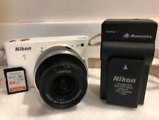 Nikon 1 J1 10.1MP Digital - White (Kit w 10-30mm Lens) (27528)