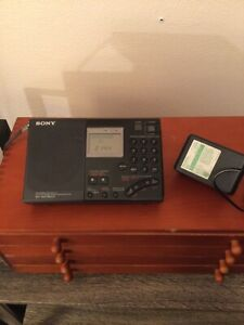 SONY Radio ICF-SW7600G Portable Shortwave World Band Receiver AM FM SW MW LW PLL