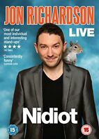 Jon Richardson - Nidiot Live [DVD] [2014][Region 2]