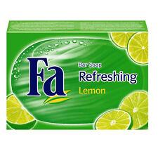 ( 1,29€/ 100g) 100g FA REFRESHING Lemon Jabón Jabón Fija Bloque de jabón Limón