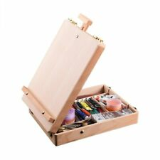 Wooden Easel for Painting Sketch Easel Drawing Table Box Oil Paint Laptop