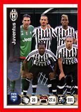 FIFA 365 2015-16 PANINI 2016 -Figurina Stiker- n. 567 - JUVENTUS -New