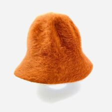 Halper Brothers Made In FRANCE Rabbit Hair And Wool Women's Cloche Hat Rust S