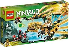RARE: LEGO Ninjago 70503 The Golden Dragon (2013) NISB - FREE SHIPPING