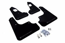 RALLY ARMOR UR Mud Flaps Lancer Evolution Evo X Black w/ Grey MF10-UR-BLK/GRY