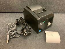 Star Tsp100ii Thermal Pos Receipt Printer Usb 143iiu With Power Cord Amp Usb Cable