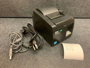 Star TSP100II Thermal POS Receipt Printer USB 143IIU w/ Power Cord & USB Cable