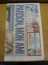 27/06/2016 Euro2016: Daily Mirror Football Special - 16 Page Pull-Out, Headline