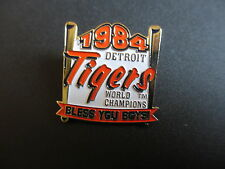 1984 DETROIT TIGERS WORLD CHAMPIONS LAPEL PIN