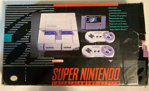 SNES Box Only No Styrofoam, Manuals or Inserts