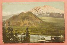 1909 DPO 1902-1916 CANTARA CA CANCEL MT SHASTA POSTCARD SISKIYOU COUNTY
