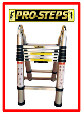 Escalera telescópica 3.8 mtrs. A-Type marca Pro-Steps PSTA38
