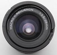 Macro Revuenon Macro-Revuenon MC 28mm 28 mm 1:3.5 3.5 - M42 Anschluss