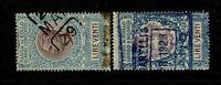 Italy - 2 1920s 20 Lire Tassa Bollo Revenues Used - S9418