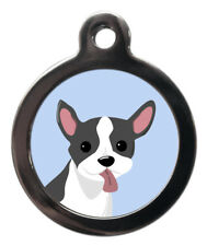 PS Pet Tags, French Bulldog Tag Engraved For Free With Lifetime Guarantee!