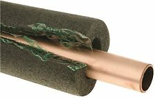THERMWELL POLY FOAM PIPE INSULATION, 1-1/8 IN. ID X 1/2 IN. WALL X 1 IN. PIPE T