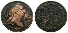CARLOS III. 4 MARAVEDIS. 1773. SEGOVIA.