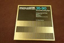 New ListingMaxell Ud 35-90 7� Reel To Reel Tape 1800 Foot Used but very nice condition.