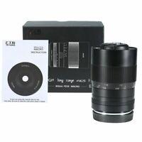 7artisans 60mm F2. 8 APS-C Magnification Macro Camera Lens for Fuji FX-Mount