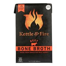 Kettle & Fire Beef Bone Broth  - Case Of 6 - 16.9 Oz