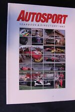 Book Autosport Yearbook & Directory 1992 (English)