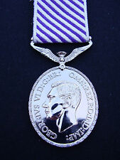 Royal Air Force RAF - GV1 WWII Distinguished Flying Medal DFM+Ribbon - Army,Navy
